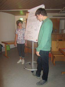 Massimo und Alexander bei der Schulung